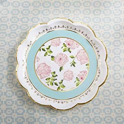 Tea Time Whimsy Paper Plates