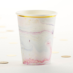 Marbleized Paper Cups (Set of 8)