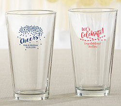 Personalized 16 oz. Pint Glass - Party Time